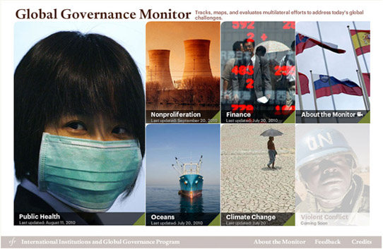 Global Governance Monitor